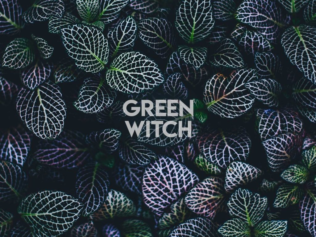 Green Witch Wicca Wallpaper
