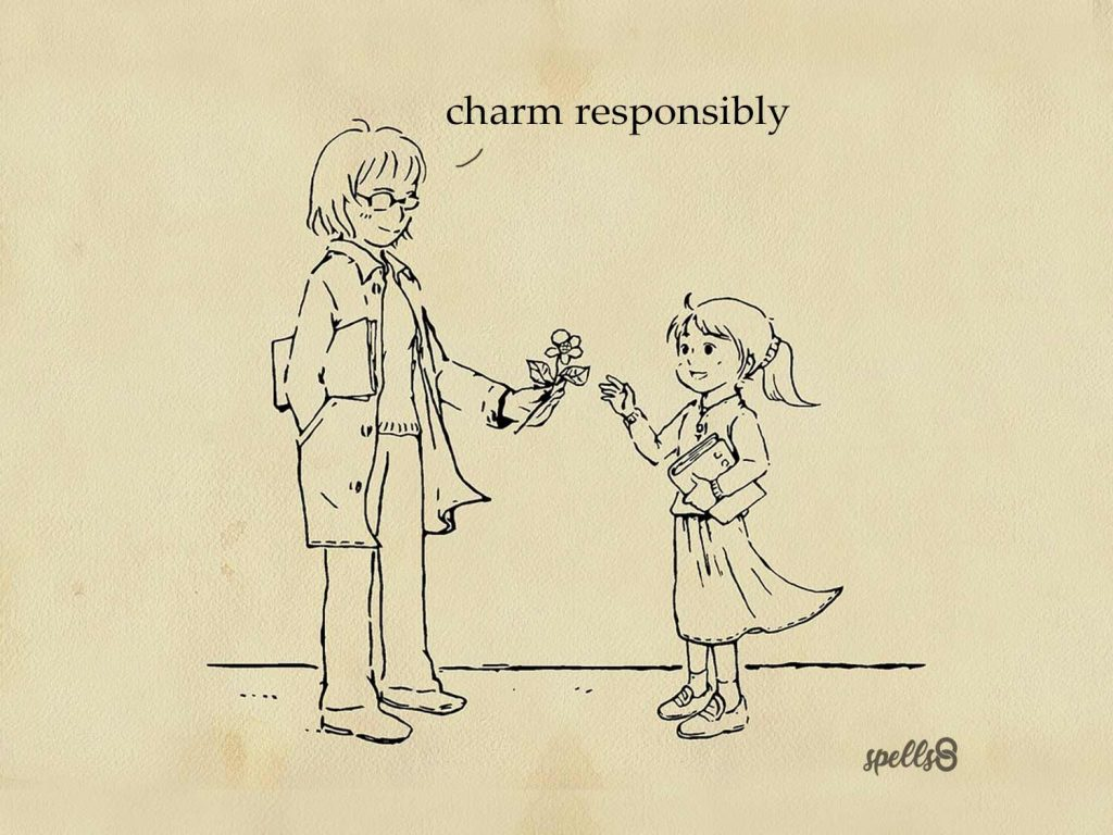 Charm responsibly Wiccan wallpaper