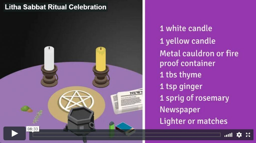 Litha Wiccan Celebration Ritual