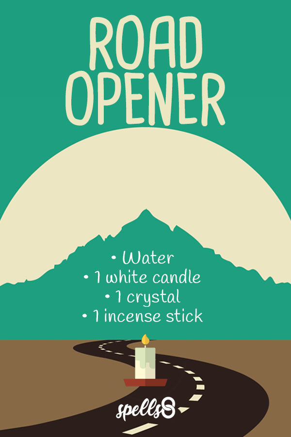 Road Opener Candle Spell