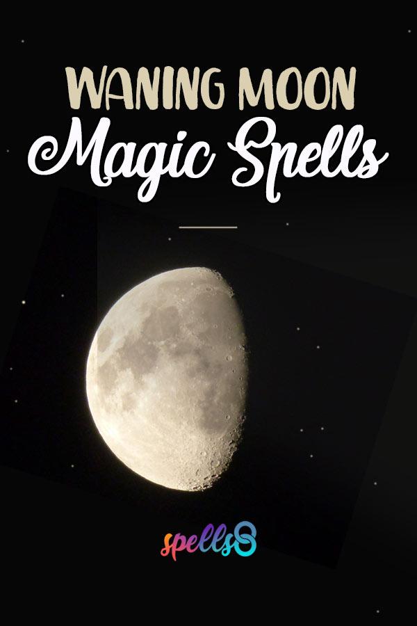 Waning Moon Spells