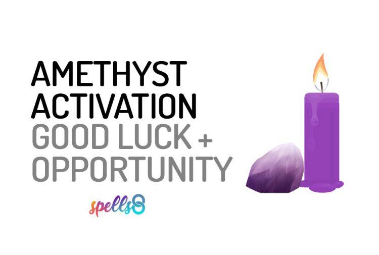 Amethyst Stone Activation Meditation