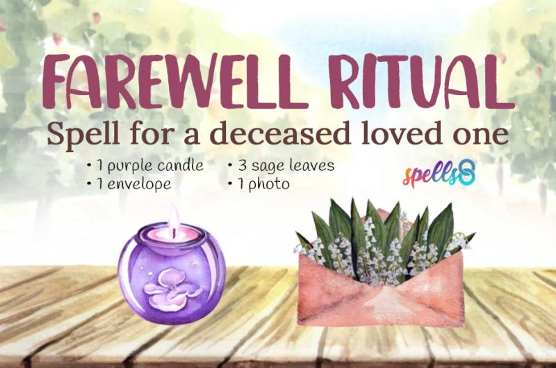Wiccan Spell For Departed Loved Ones