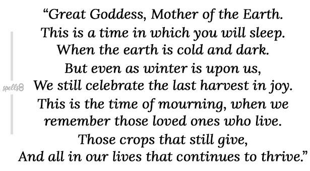 Solitary Wiccan Samhain Ritual