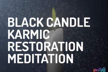 Black Candle Meditation Karma