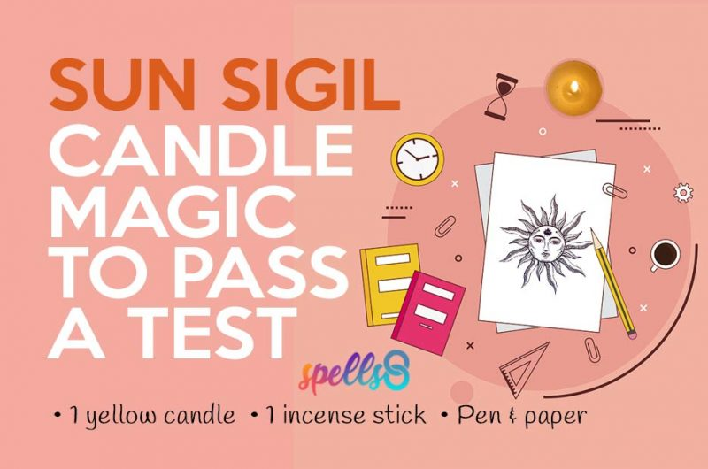 Spell to Pass an Exam: Magick Sun Sigil