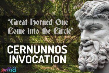 Cernunnos Prayer Wiccan