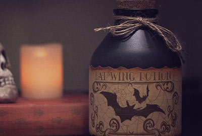 Witch potion making ideas