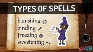 Types of spells