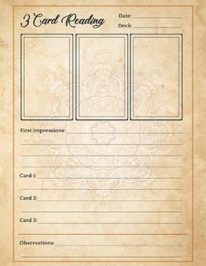 3-Card Love Tarot Reading