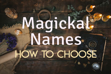 How to choose witch name