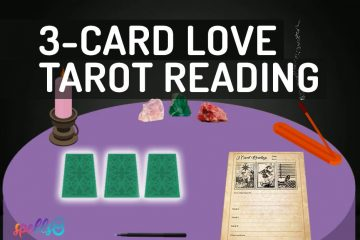 Tarot 3-Card Love Reading Ritual