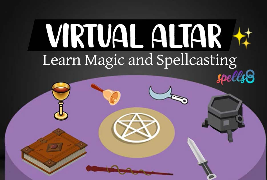 Virtual Altar for Pagans and Witches