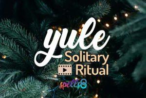 Yule Solitary Ritual Spells8
