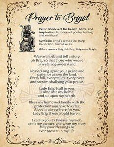 Printable Prayer to Brigid