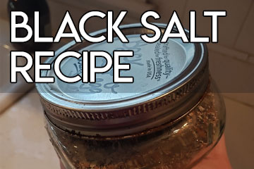 How to make Black Salt