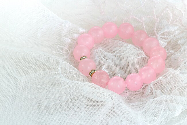 Rose quartz bracelet activation