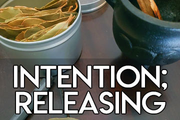 Monthly intention release