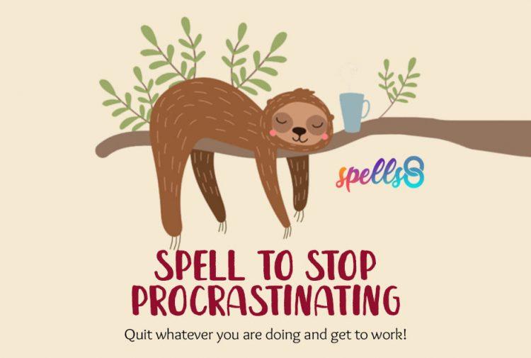 Spell to Stop Procrastination