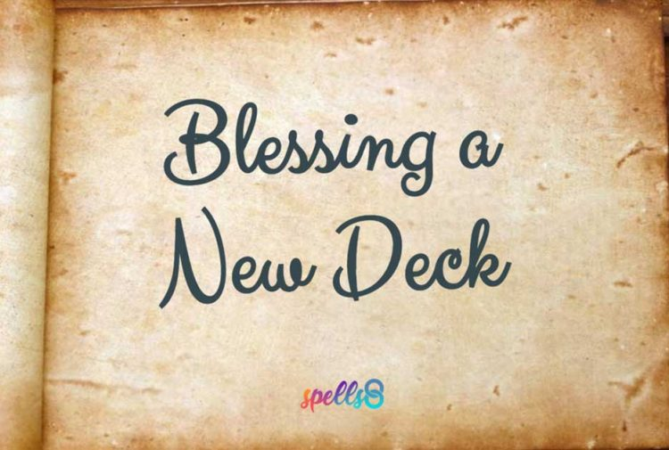 Blessing a Tarot Deck Lesson