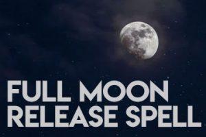 Full Moon Release Spell