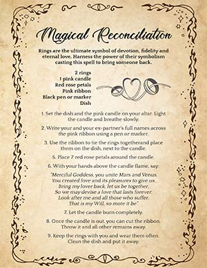 Magical Reconciliation Spell