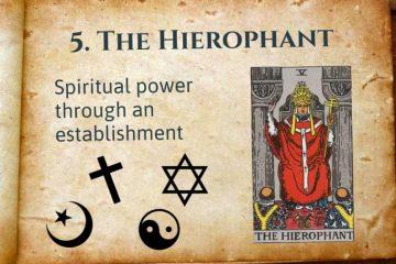 The Hierophant Lesson Tarot