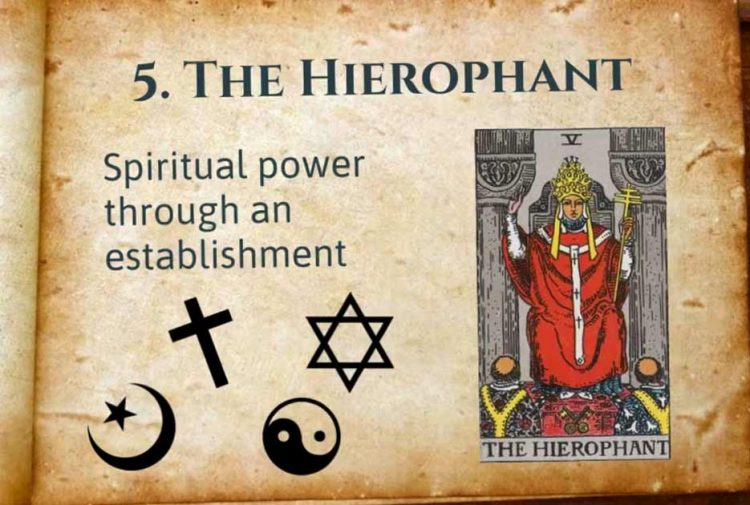 The Hierophant Lesson Tarot