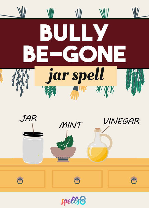 Bully Be Gone Jar Spell