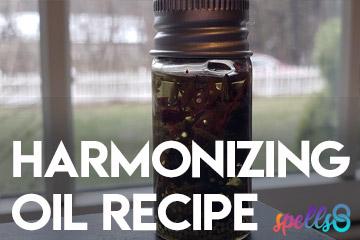 Harmonizing Oil Potion
