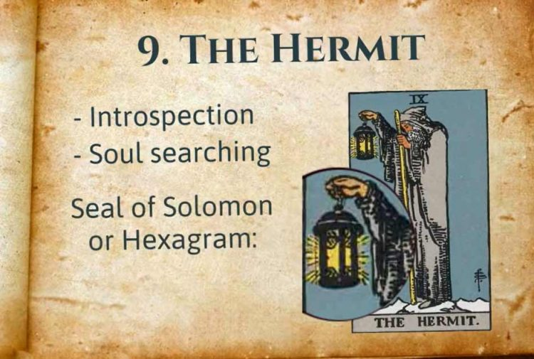 The Hermit Tarot Lesson