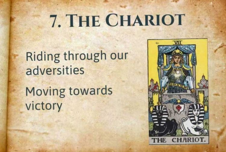 The Chariot Tarot Lesson