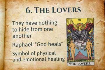 The-Lovers Tarot card