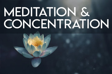 Can't concentrate while meditating