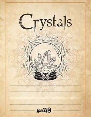 Crystals Page Grimoire