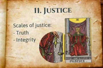 Justice Tarot Lesson