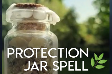 Protection Jar Spell with Herbs