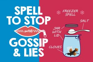 Spell to Stop Gossip and Lies