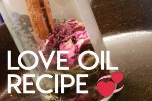 Love Oil Potion Recipe