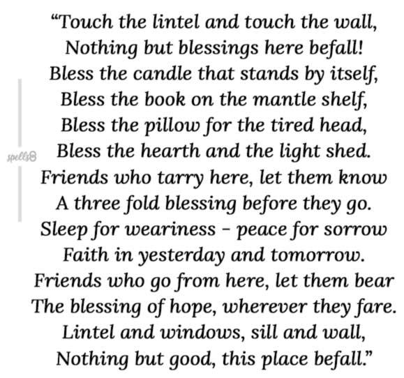 Prayer For House Blessing