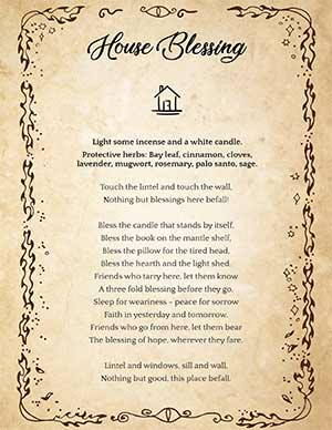 Wicca Home Blessing
