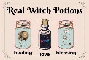 Real Life Potions Recipes