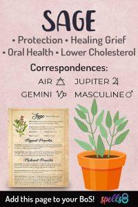Sage Correspondences