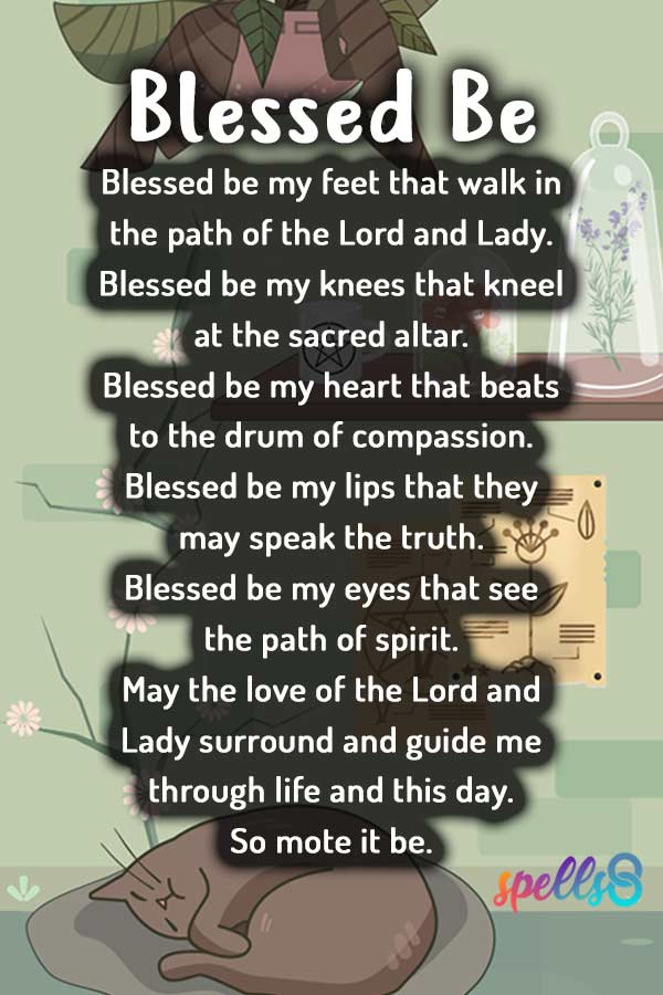 Blessed Be Daily Wiccan Prayer