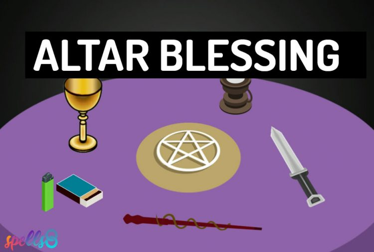 Easy Wiccan Altar Blessing