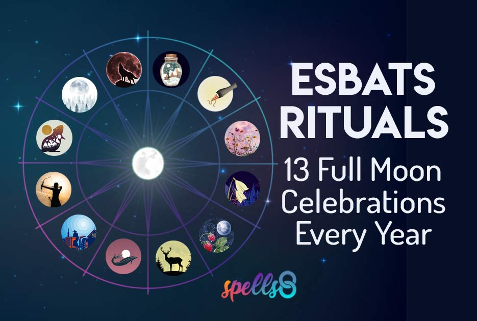 Full Moon Esbat Wiccan Rituals