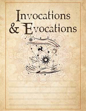 Invocations Book of Shadows