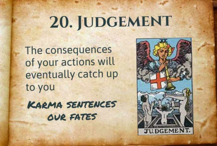 Spiritual Meaning of Judgement Tarot