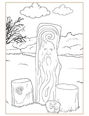 Lughnasadh Activities Coloring page