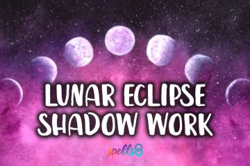 Lunar Eclipse Candle Ritual and Shadow Work
